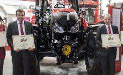 Case IH recibe varios premios a la innovación en Fieragricola 2018